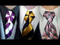 In Depth How to: Tying a Truelove Knot Neck Tie - Mirrored Video - YouTube