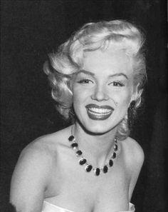 Marilyn Monroe photographed on 1st January 1953