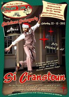 Si Cranstoun X-mas party 2012 @ Cruise Inn Amsterdam