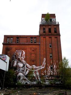 Street Art by Alaniz, Berlin 1