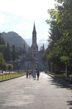 Lourdes, France -  It was a place I NEVER wanted to leave. There, I found the kind of peace I never really knew existed.