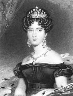 Princess Augusta of Hesse wearing the Cambridge Lovers Knot Tiara that Queen Mary  based hers on.