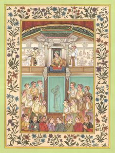 Mughal Empire Miniat