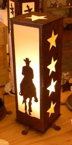 Cherokee Iron Works | Rustic & Western Lighting | Rustic & Western Home Decorations - Rider