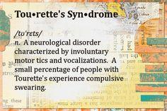 Tourette's Definition by A Quiet Week, via Flickr. #autism #aspergers