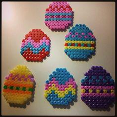 Easter eggs perler beads by gullekorv