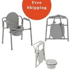 Commode Chair Walgreens Folding-Bedside-Commode-Portable-Bedpan-Toilet-Handicap-Senior-Elderly ...