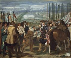 Diego Rodríguez de Silva y Velázquez - Las lanzas o La rendición de Breda (Museo Nacional del Prado)