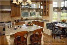 Kitchen Booth Design Ideas, Pictures, Remodel, and Decor - page 24