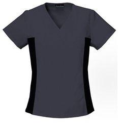 Women's Flex-i-bles V-Neck Tunic - Pewter