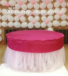 Tutu Table skirt and Custom Table Valance