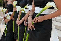 calla lilies wedding bouquets | Calla Lily Wedding Flowers 550x366 Alexandria Virginia Wedding: Ariana ...