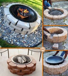 DIY : How to make Fire Pit
