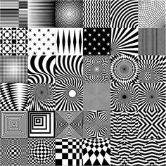 Op Art | Mouseover Image to Zoom In