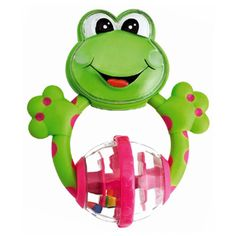 Chicco Fun Teething Frog Rattle