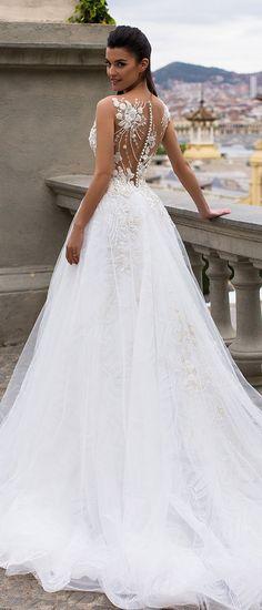 Milla Nova Bridal 2017 Wedding Dresses lea3 / http://www.deerpearlflowers.com/milla-nova-2017-wedding-dresses/3/