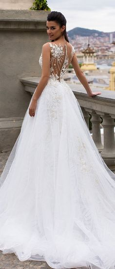 Milla Nova Bridal 2017 Wedding Dresses lea3 / http://www.deerpearlflowers.com/milla-nova-2017-wedding-dresses/3/