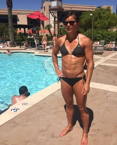 Alex Parker at Las Vegas Pool