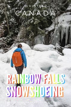 The Rainbow Falls Loop is an easy, family friendly walk in Whistler (Canada) that will lead you through pretty forest to a cool double waterfall.