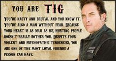 Which Sons of Anarchy Character Are You? #SOA #Sons of Anarchy #TIG