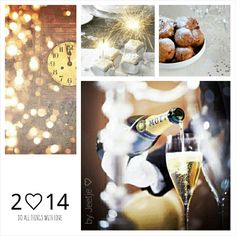 Happy New Year! Moodboard by Jeetje♡: Do all things with love