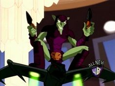 the spectacular spider-man green goblin | The Daily Raider: Spectacular Spider-Man Episodes 7-8 Review