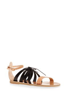 Iphigenia Bi-Color Leather Sandals by Ancient Greek