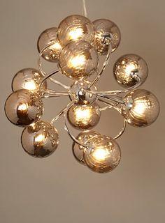 Kennedy 9 light Sputnik - pendants - ceiling lights - Home, Lighting & Furniture