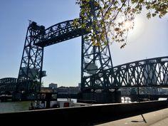 De Hef in het zonnetje! #dehef #rotterdam #haven #koningshavenbrug #koningshaven