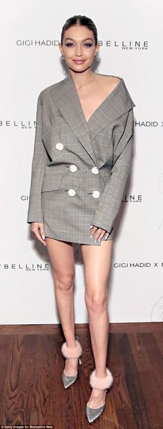 Model behavior: Gigi attended the Gigi Hadid x Maybelline New York International Launch Pa...