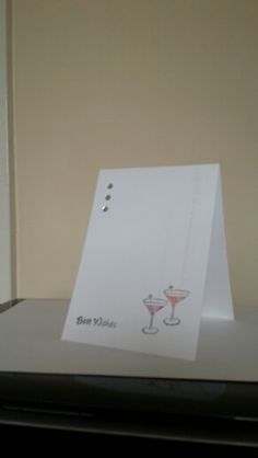 Simple birthday or congratulations card