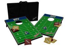 Pitt University Panthers Cornhole Bean Bag Toss Game