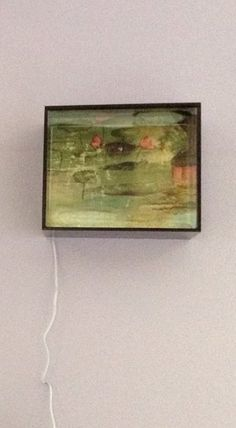 Water lilies, light box Water Lilies, Art Projects, Boxes, Lily, Frame, Painting, Home Decor, Picture Frame, Crates