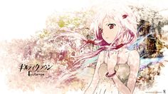 Inori Yuzuriha from the anime series Guilty Crown Graphic Wallpaper, Original Wallpaper, Hd Wallpaper, Guilty Crown Wallpapers, Inori Yuzuriha, Iron Fortress, Anime People, Female Anime, Character Illustration