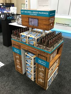 Blue Moon Free Standing Unit - Looking to get noticed with your point of sale display in a busy, fast-paced retail environment? Increase confidence in your sales with www.popthis.com.au