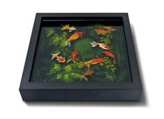 fish pond  Mind-Blowing 3D Paintings by Keng Lye http://kenglye.deviantart.com/