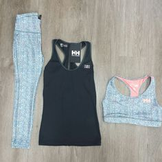 Comfort and style in this Helly Hansen outfit!   #ninewaves #lucknow #listowel #kincardine #clothing #hellyhansen #workout #stylish #bright #leggings #tank #sportsbra #fun #photoofday #outfitoftheday #loveit #summer #weekend