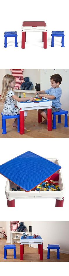 Play Tables and Chairs 66743: Kidkraft Lego Compatible 2 In 1 ...