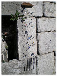 Carillons avec des boutons de récupération
