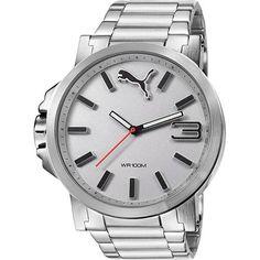 [Ricardão] Relógio Masculino Puma - Caixa de 5,3cm - R$ 269,91 em 8x s/j