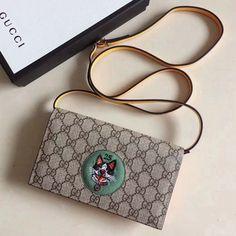 b0faa7b6c2cf Gucci GG Supreme Bosco Mini Chain Bag 499385 Green 2018