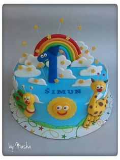 baby tv birthday cakes - Buscar con Google