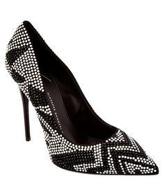 GIUSEPPE ZANOTTI Giuseppe Zanotti Embellished Suede Pump'. #giuseppezanotti #shoes #pumps & high heels