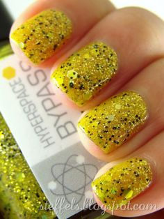 I like this nail polish, especially since it is called nerd lacquer! lol