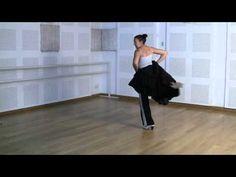 Técnica básica de bata de cola: Ejercicio básico - YouTube
