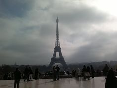 Giornata grigia a Parigi