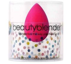 Once I started using a beauty blender to apply my foundation and powder, I got that airbrushed look PLUS my makeup stayed put all day long. A must have in any makeup bag!