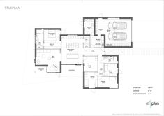 Herning | m²plus Exterior Design, Future House, Planer, House Plans, Sweet Home, House Ideas, New Homes, Floor Plans, Layout