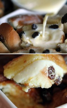 English Raisin Bread Pudding Recipe - Perfect for weekend breakfast & brunch!