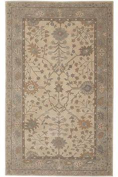Cher Area Rug - Hand-tufted Rugs - Wool Rugs - Traditional Rugs - Border Rug | HomeDecorators.com